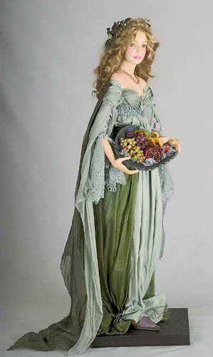 Волшебные куклы от Александры Худяковой » Фэнтези, фантастика, игры.