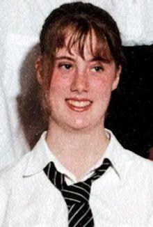 Samantha Lewthwaite in a school photograph. Photograph: REX/Mark St George