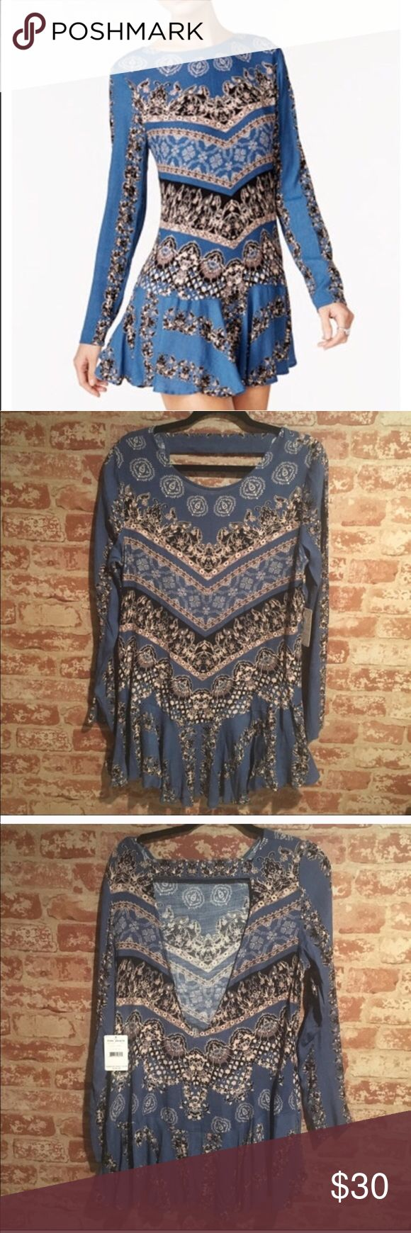 Free people smooth talker open back dress BRAND NEW (tag is missing)! Size medium-NEVER WORN👍 Free People Dresses