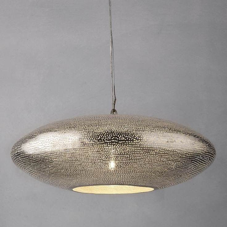 Zenza filisky oval pendant ceiling light oval pendantpendant lightsceiling lightingjohn lewislighting