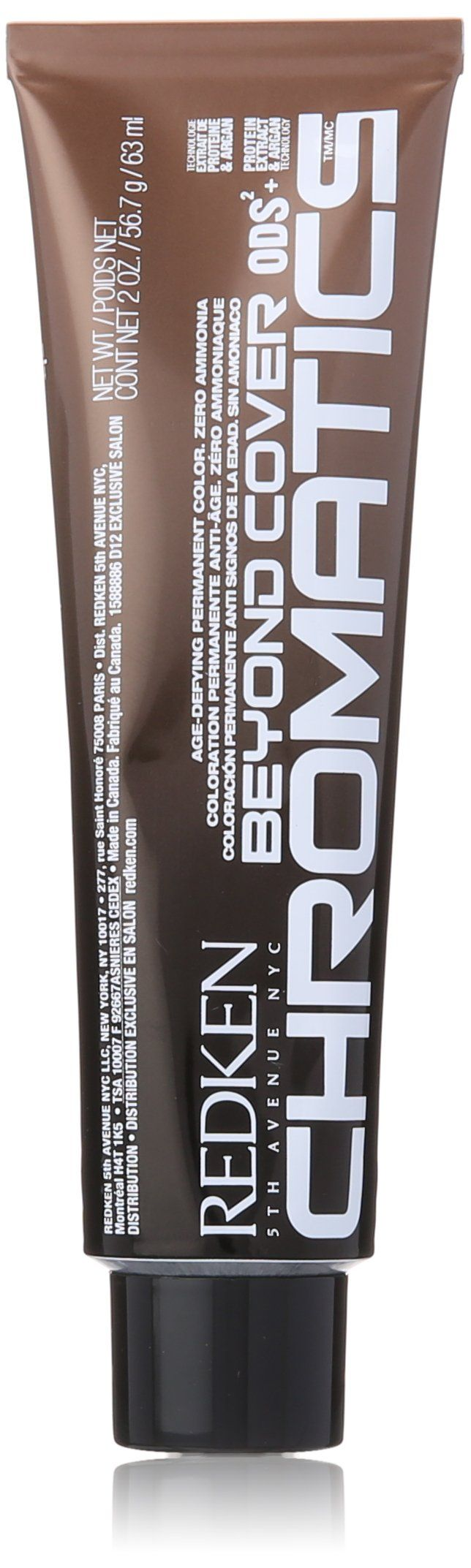 Redken Chromatics Beyond Cover Hair Color, No.5.23 Iridescent/Gold, 2 Ounce. Chromatics beyond cover hair color 5Ig (5.23)-iridescent and gold was launched by the design house of Redken. It is recommended for casual wear. 2 ounce hair color.