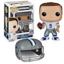 Pop! Vinyl NFL Tony Romo Wave 2 Pop! Vinyl Figure 7566 Funko is moving the chains with their NFL Wave 2 Pop! vinyl figures! This NFL Tony Romo Wave 2 Pop! Vinyl Figure features the quarterback of the Dallas Cowboys. This figure includes a removable helmet http://www.MightGet.com/january-2017-11/pop!-vinyl-nfl-tony-romo-wave-2-pop!-vinyl-figure-7566.asp