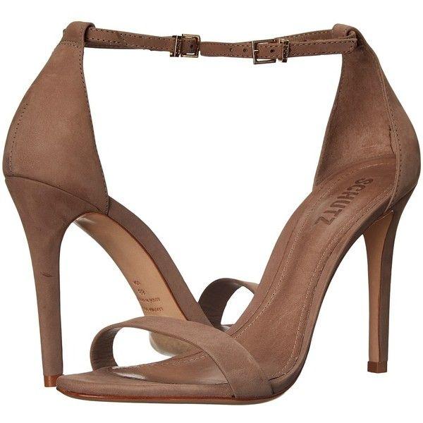 Schutz Cadey-Lee High Heels ($180) ❤ liked on Polyvore featuring shoes, sandals, schutz, high heel sandals, schutz footwear, open toe sandals and schutz sandals