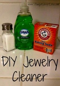 Jewelry cleaner baking soda jewelry cleaner for How to clean jewelry with baking soda