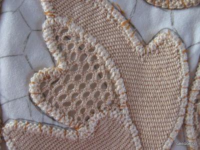 MACRAME' RUMENO - POINT LACE: CENTRO TAVOLA QUADRATO con DISEGNO (cm 85 x 85)  Wonderful website for point lace