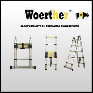 Las mejores escaleras telescopicas del mercado !!!!