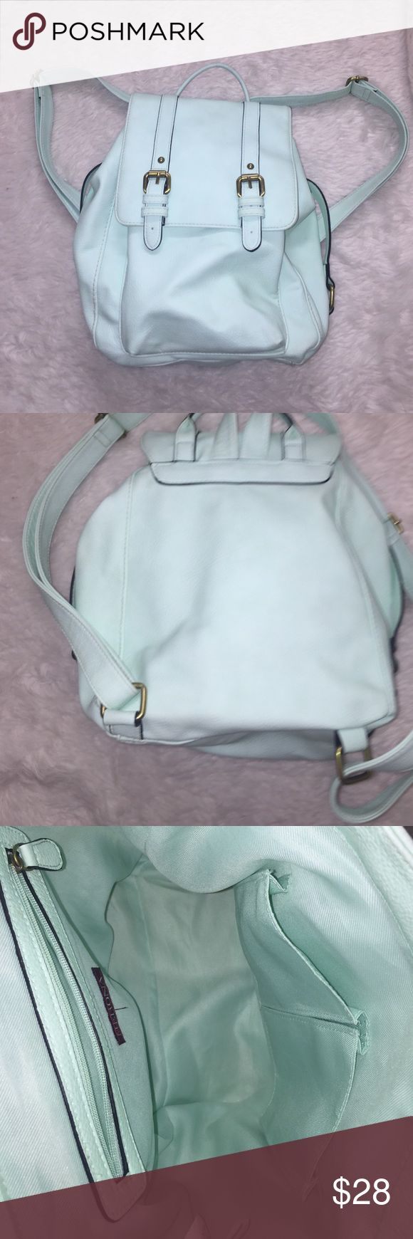 Mint green backpack Stylish mint green back pack sold out everywhere Merona Bags Backpacks