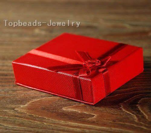 Красная Бумага Подарочная Упаковка Коробки