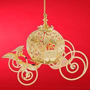 Disney Cinderella Coach Ornament by Baldwin #Cinderella #coach #ornament #Disney #Christmas beautiful wedding gift idea