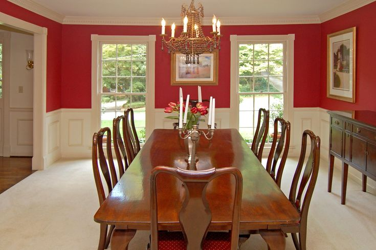 Beautiful Gallery Of Wainscoting Dining Room Design 18