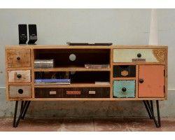 "Meuble télé ""Vintage sixties"""