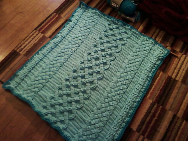 Crochet Cable Baby Blanket Pattern : 65 best images about Crochet (Cable stitch) on Pinterest ...