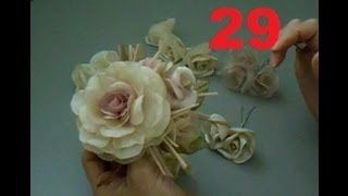 Edirlene Aulas de Flores de Tecido - YouTube                                                                                                                                                      Mais