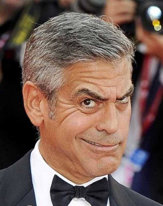 Dude, One Minute from George Clooneys Many Wacky Faces