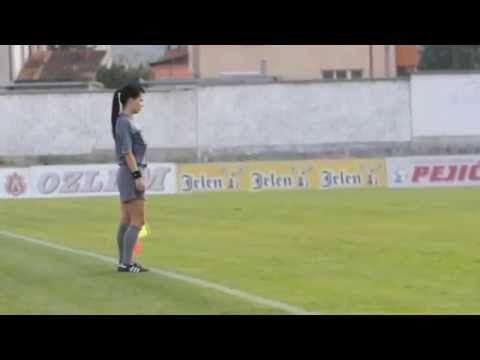 Bandeirinha Aleksandra Milojevic caiu no YouTube e vira febre mundial