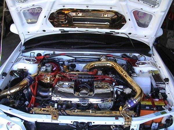 1998 SUBARU IMPREZA N MY98 WRX AWD VF 22 Turbo, HKS Front Mount Inter .  Water SprayUnique CarsJdm ...