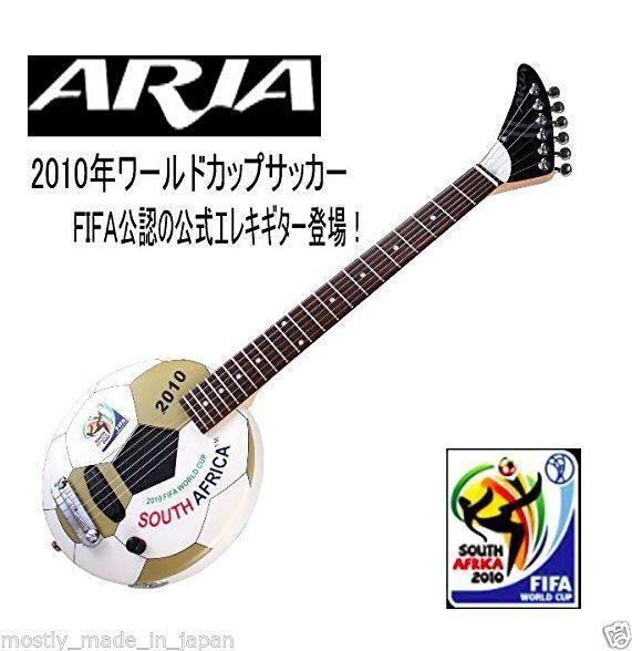 aria 2010 FiFA official guitar from Japanese Maker still in the box ! brand new  #FIFA #football # guitar