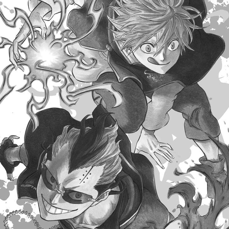 Univers Anime Manga: 20 Best BLACK CLOVER ♣ Images On Pinterest