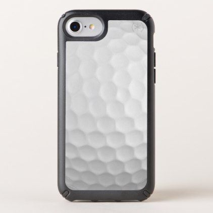 Cool Image Of White Golf Ball Dimples Pattern Speck iPhone Case - classy gifts custom diy personalize