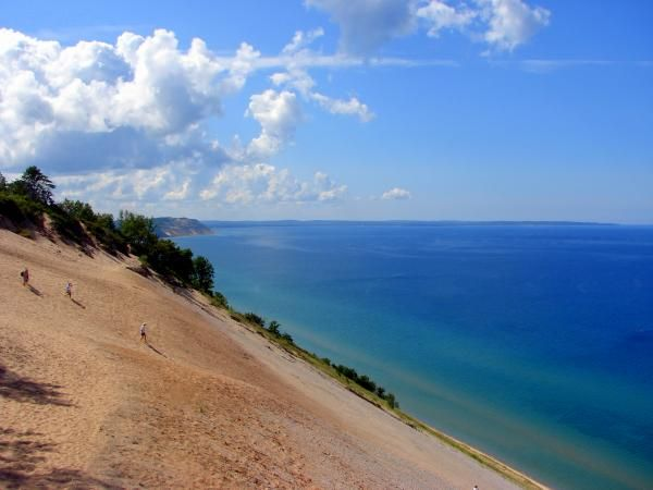 Top Five Beaches in Traverse City Michigan
