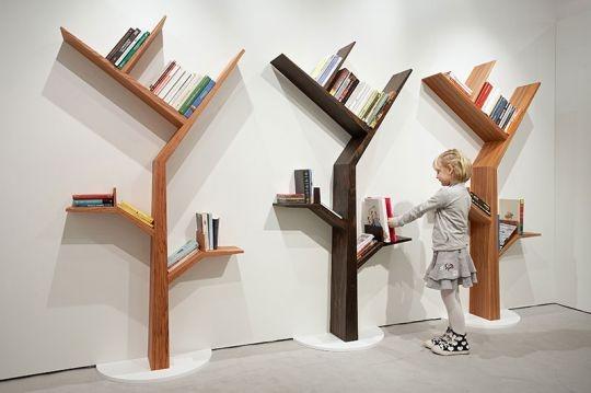 Tree Bookcase: Kids Bedrooms Furniture, Bookshelves, Design Homes, Bookshelf Design, Child Rooms, Trees, Book Shelves, Kids Book, Kids Rooms