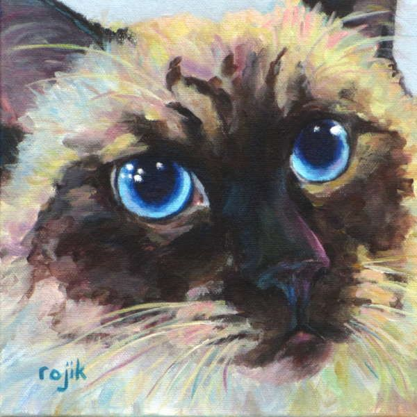 The Art of Roma J Rojik - Baby's got blue eyes...