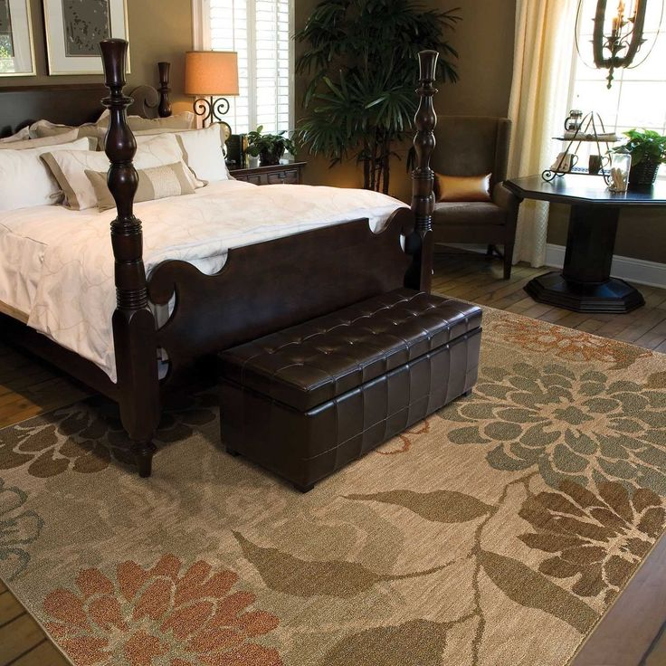 25 best ideas about rug placement bedroom on pinterest for Bedroom rug placement