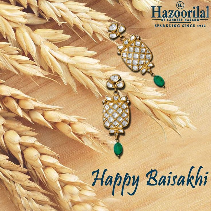 #HazoorilalBySandeepNarang wishes you a harvest of joy and prosperity this season. #HazoorilalCelebrates #Polki #Diamonds #JewelryLover #JewelryAddict #Hazoorilal