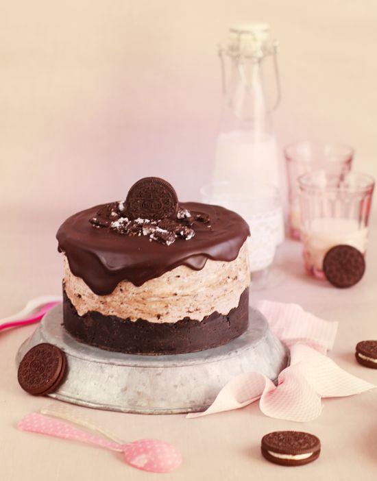 Oreo cheesecake. Receta en español del blog de Megasilvita