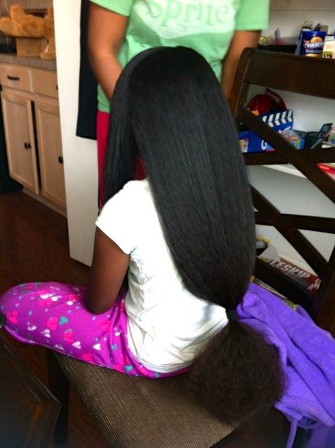 Black Little Girl With Long Natural Hair Google Search