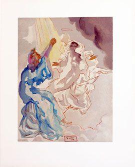 Dali - Devine Comedy - New Image of Beatrice