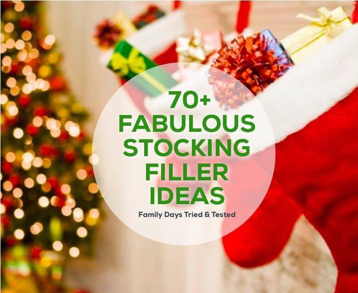 So what do you put in your kid's Christmas stockings? We asked our Family Days community for their ideas and they came up with a fabulous list of inexpensive and fun ideas. We wanted to include something they'll need, something they'll read and something they'll eat. Here's what our parenting community came up with… Socks …