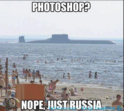 Photoshop? Nein, nur Russland!