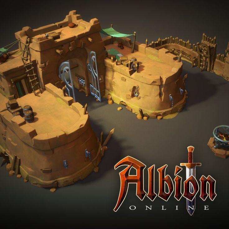Albion Online : Steppe 3d Buildings, Airborn Studios on ArtStation at https://www.artstation.com/artwork/8E8OE