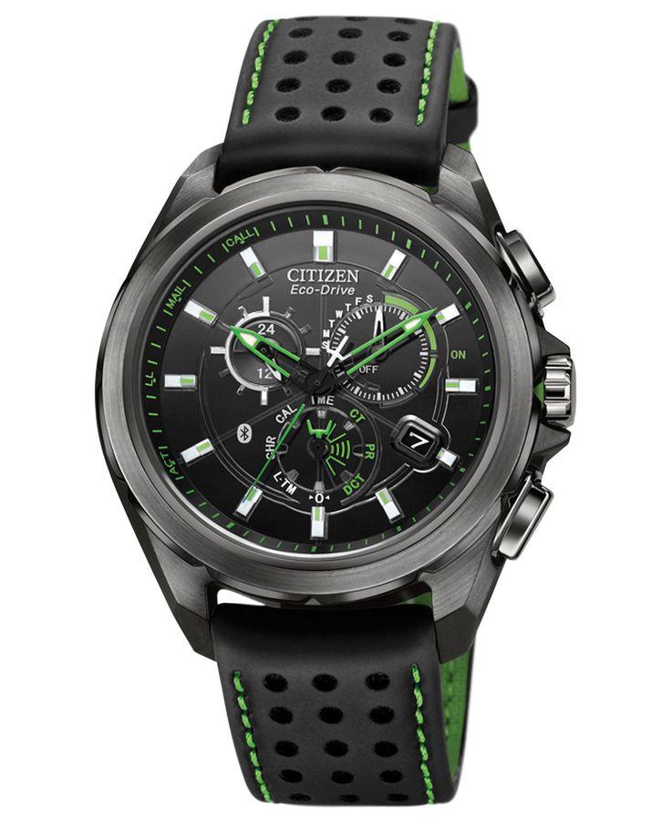 citizen s chronograph eco drive proximity bluetooth