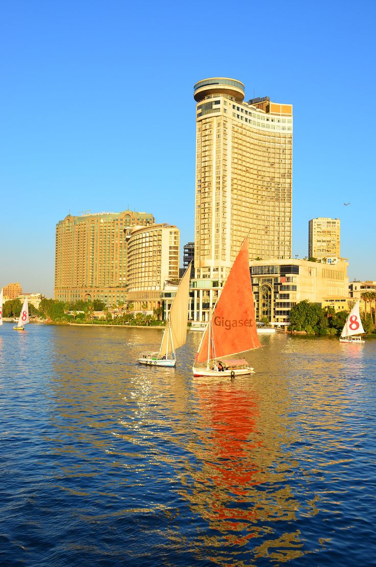 Four seasons, Meridian hotels on the Nile, Cairo, Egypt