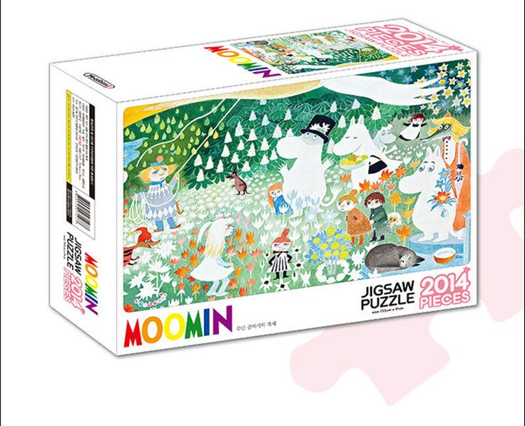 MOOMIN Characters 2014 pieces Toy Hobby Jigsaw Puzzles Valley Festival #LineFriends