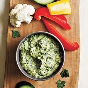 Because fresh herbs are increasingly available, you can make this tangy, peppery dip year-round.