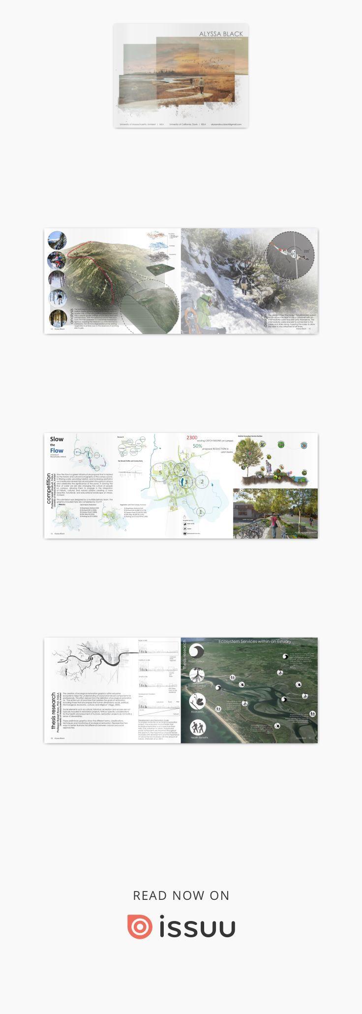 Alyssa Black Landscape Architecture Portfolio