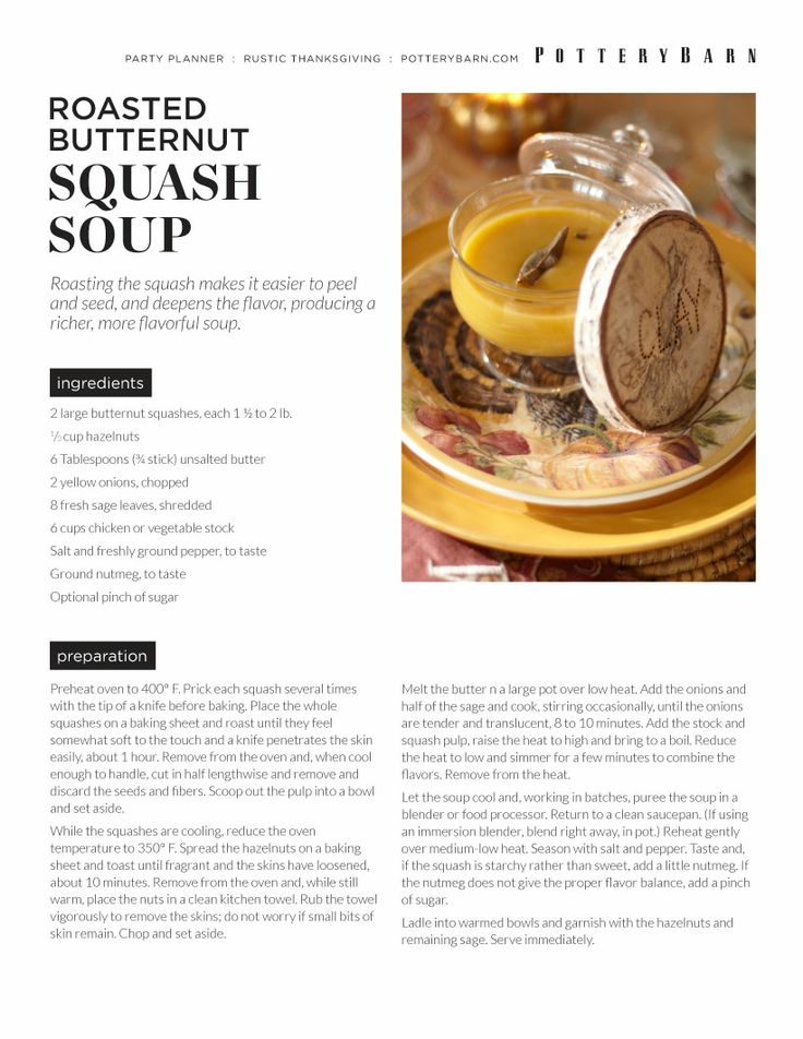 Rustic Thanksgiving Recipes | Pottery Barn