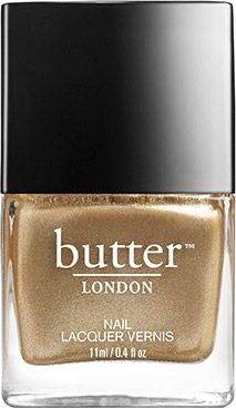 Does what it says on the bottle. Full-on molten gold nail lacquer. A beautiful colour that is always classy, never brassy.