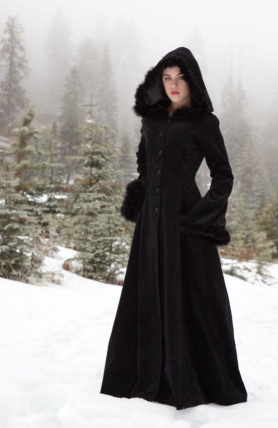 This is a coat pattern I would love to have! :) 477 - Anastasia Coat - Gothic, romantic, steampunk clothing from The Dark Angel