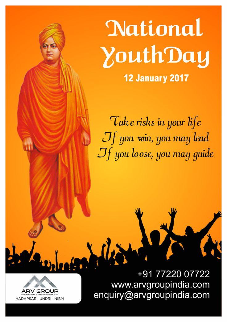 Salutations to the great Thinker, Real Youth Icon Swami Vivekananda ji on His birth anniversary.#NationalYouthDay