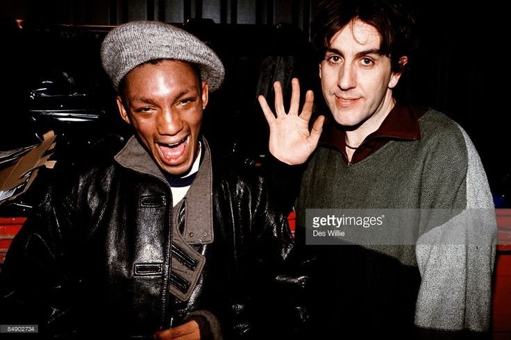 ROOM Photo of Terry HALL and TRICKY, with Terry Hall