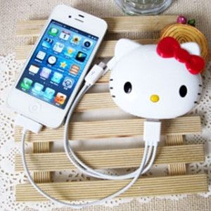 Cheap Backup Powers, Buy Directly from China Suppliers:	1pcs Hot Sell Mobile Phone Backup Powers 8000mAh Hello Kitty Battery Phone Chargers For iphone, For NOKIA,For Samsung,