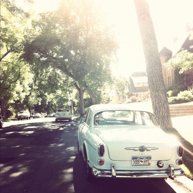 Beautiful photo. Beautiful car
