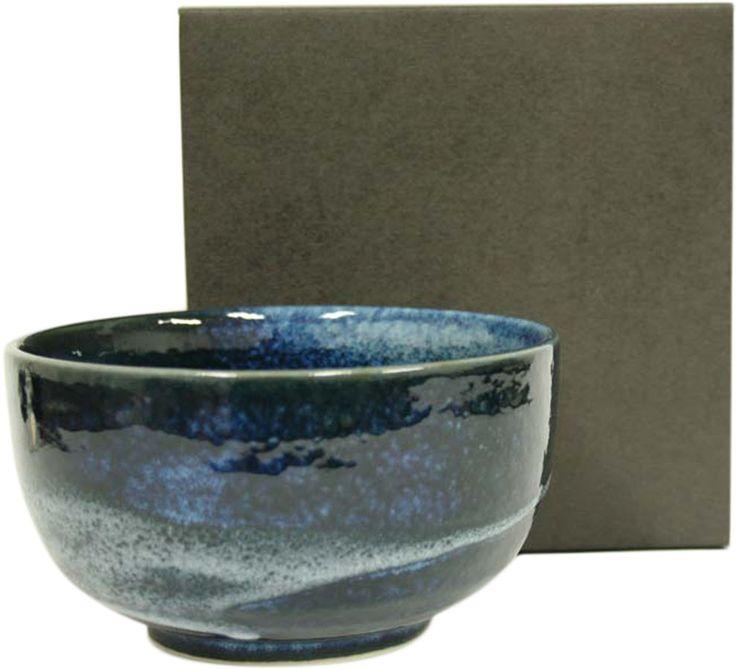 Blue matcha bowl