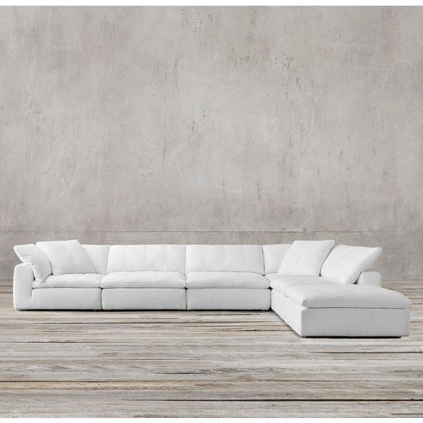 Very comfy couch-Preconfigured Cloud Cube Modular L-Sectional : restoration hardware sectional sofa - Sectionals, Sofas & Couches