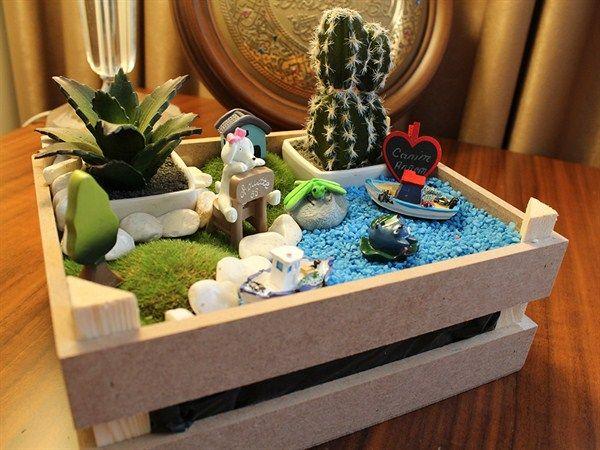 Kasa Tasarım Minyatür Bahçe - KLC import