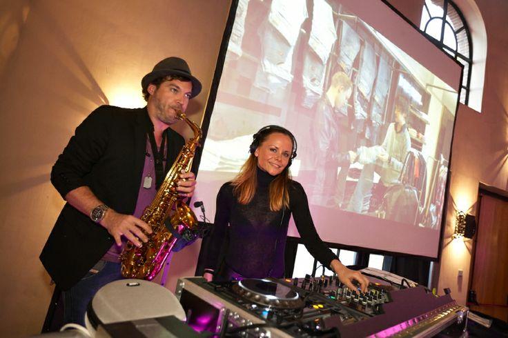 DJ Fem-K & Sax in Explore by Lute